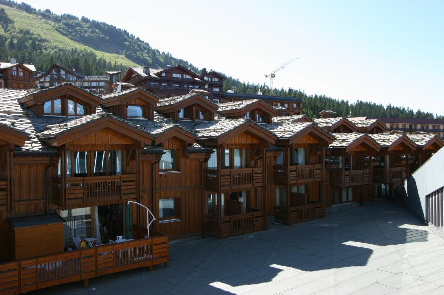Holiday in mountain resort Résidence P&V Premium les Chalets du Forum - Courchevel - Summer outside
