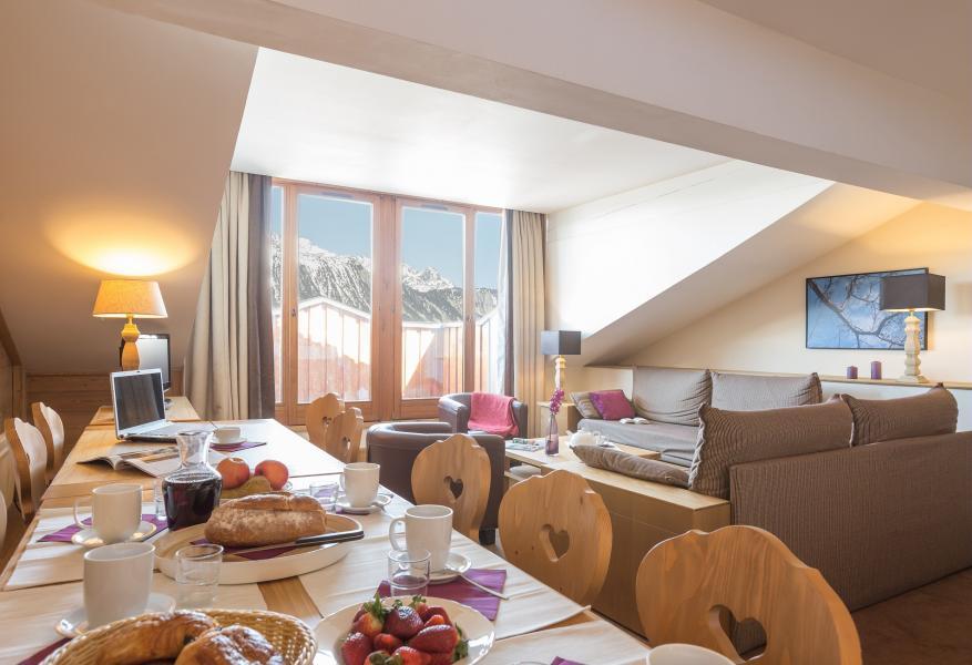 Urlaub in den Bergen Résidence P&V Premium les Chalets du Forum - Courchevel - Esszimmer