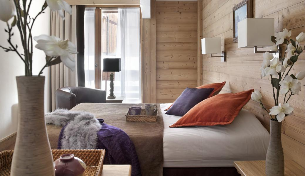 Urlaub in den Bergen Résidence P&V Premium les Chalets du Forum - Courchevel - Schlafzimmer