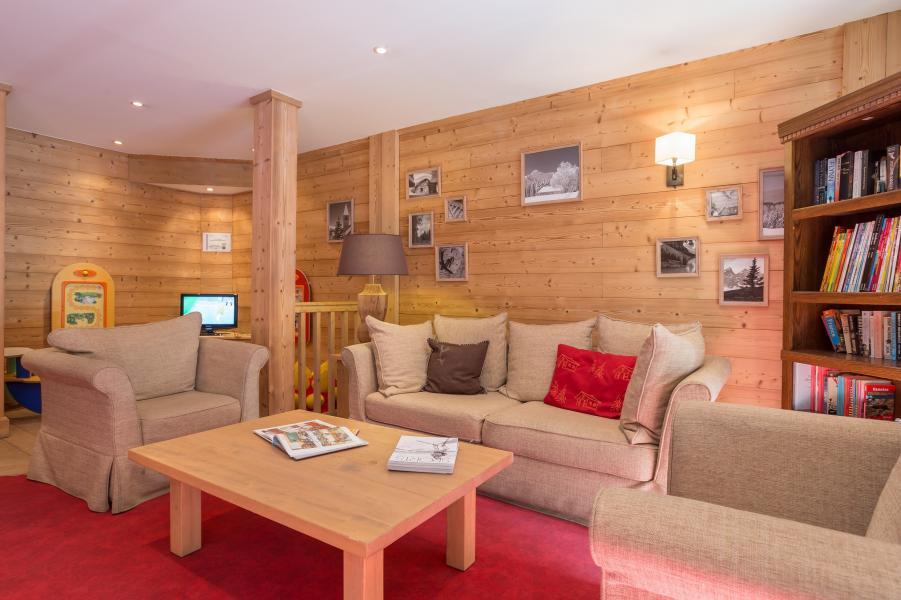 Urlaub in den Bergen Résidence P&V Premium les Chalets du Forum - Courchevel - Sitzbank