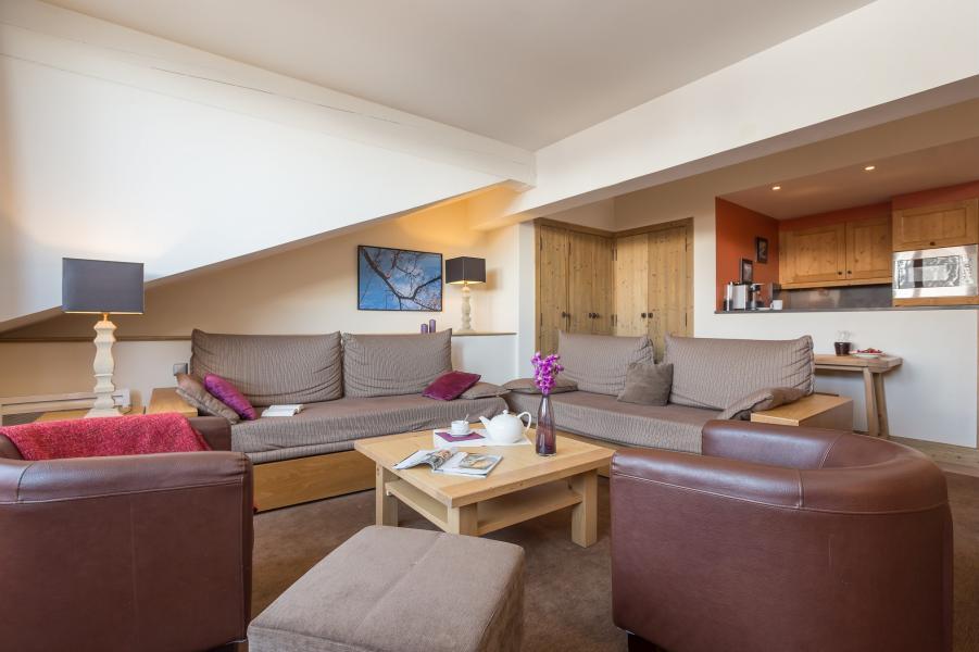 Urlaub in den Bergen Résidence P&V Premium les Chalets du Forum - Courchevel - Sofa