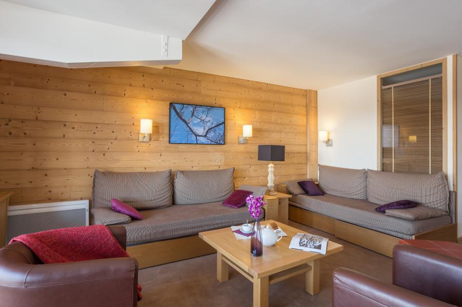 Vakantie in de bergen Résidence P&V Premium les Chalets du Forum - Courchevel - Woonkamer