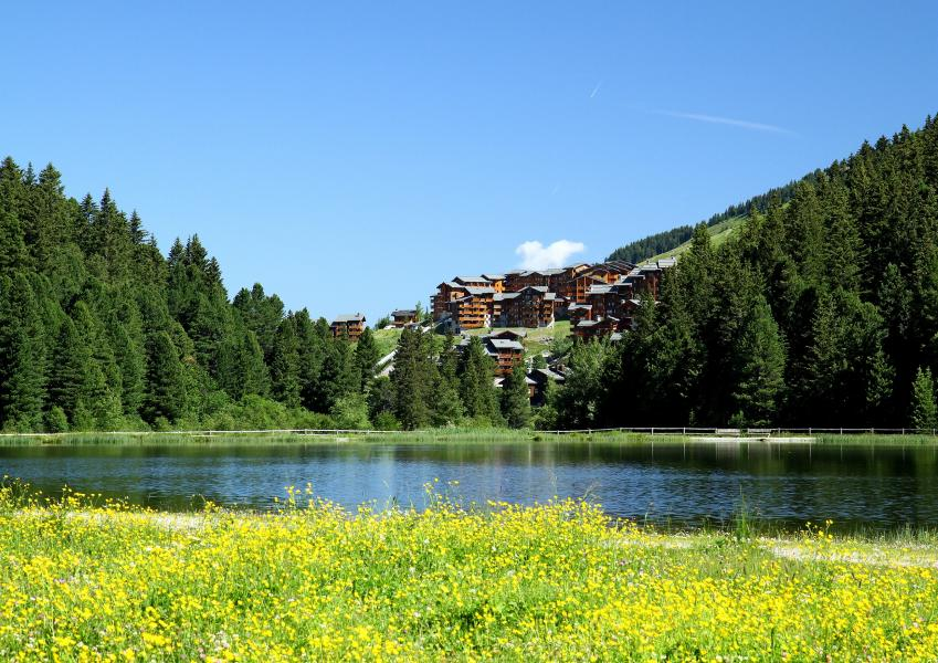 Location au ski Residence P&v Premium Les Crets - Méribel-Mottaret - Extérieur été
