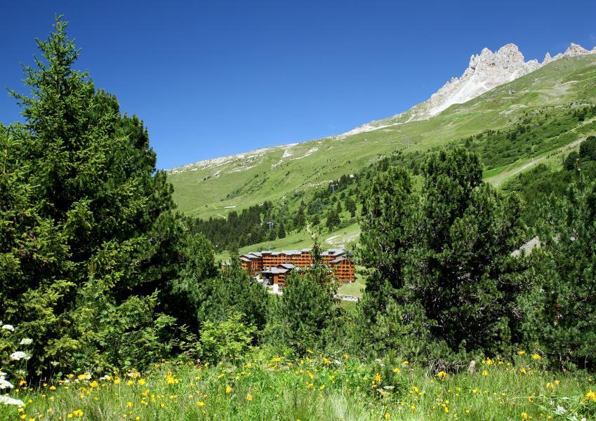 Location au ski Résidence P&V Premium les Crêts - Méribel-Mottaret - Extérieur été