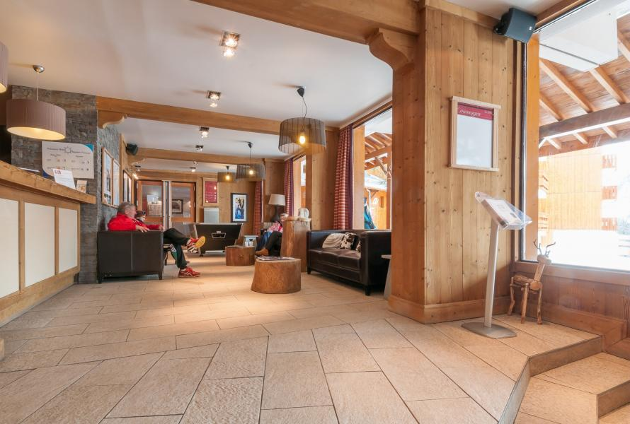 Vakantie in de bergen Résidence P&V Premium les Crêts - Méribel-Mottaret - Receptie