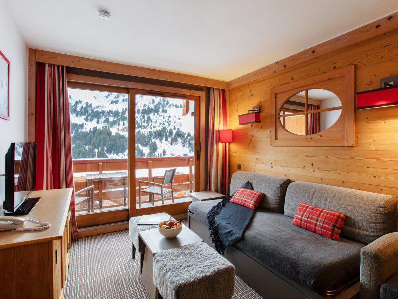 Vacances en montagne Appartement 2 pièces 4-6 personnes - Résidence P&V Premium les Crêts - Méribel-Mottaret