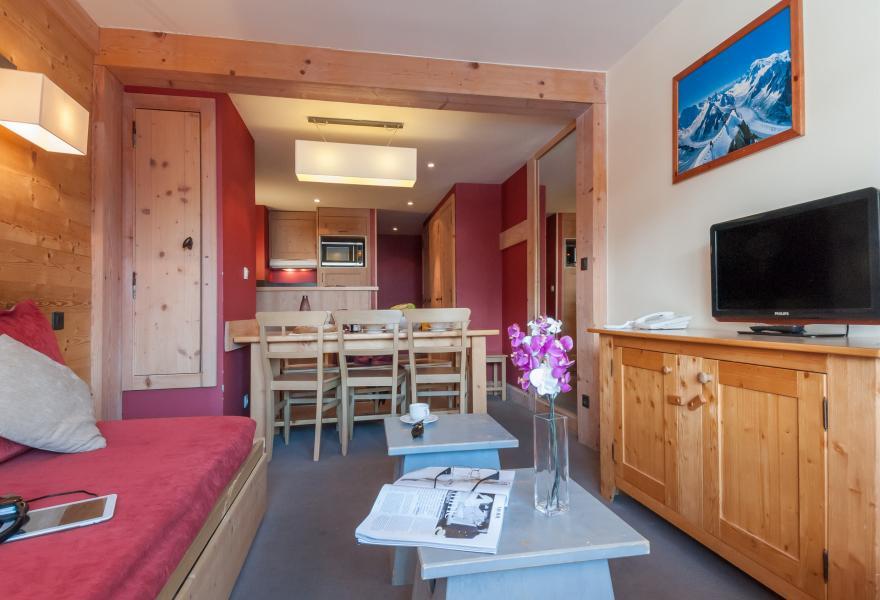 Vacances en montagne Résidence P&V Premium les Crêts - Méribel-Mottaret - Coin repas