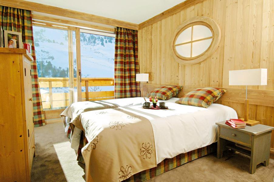 Holiday in mountain resort Résidence P&V Premium les Crêts - Méribel-Mottaret - Double bed