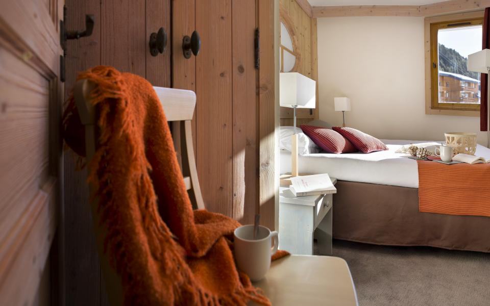 Vakantie in de bergen Résidence P&V Premium les Crêts - Méribel-Mottaret - Kamer