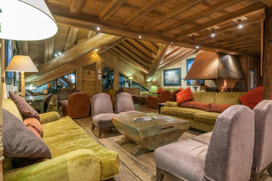 Vakantie in de bergen Résidence P&V Premium les Fermes de Méribel - Méribel - Receptie