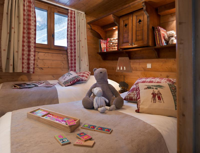 Holiday in mountain resort Résidence P&V Premium les Fermes de Méribel - Méribel - Bedroom