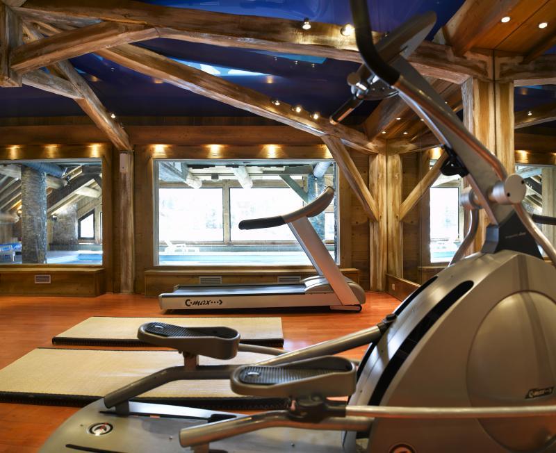 Vacances en montagne Résidence P&V Premium les Fermes de Méribel - Méribel - Espace fitness