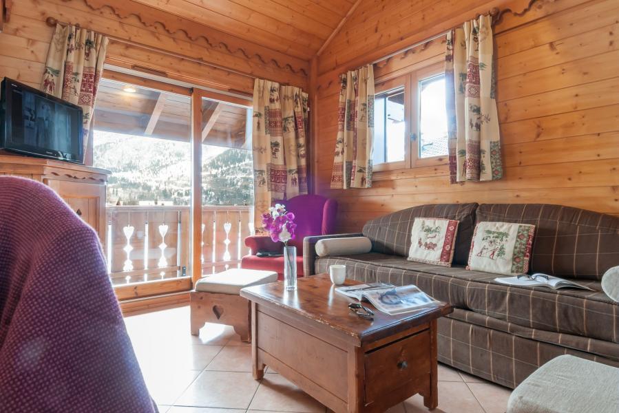 Vakantie in de bergen Résidence P&V Premium les Fermes de Méribel - Méribel - Zitbank