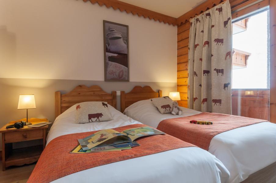 Urlaub in den Bergen Résidence P&V Premium les Hauts Bois - La Plagne - Einzelbett