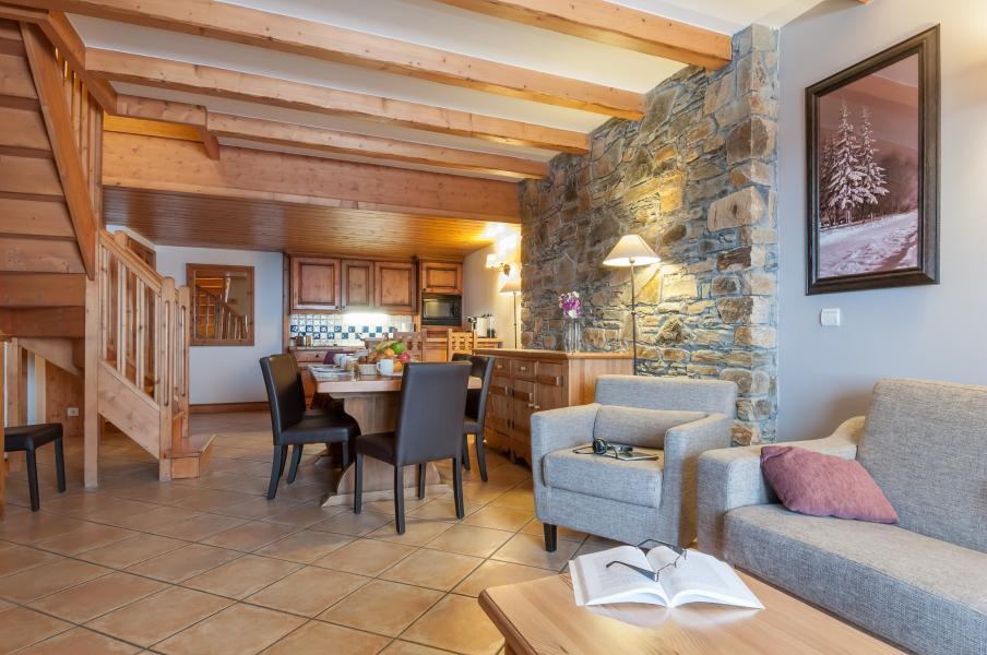 Urlaub in den Bergen Résidence P&V Premium les Hauts Bois - La Plagne - Essbereich