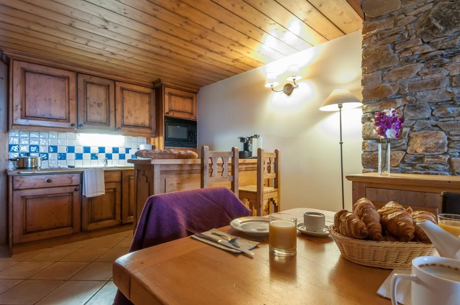 Urlaub in den Bergen Résidence P&V Premium les Hauts Bois - La Plagne - Küche