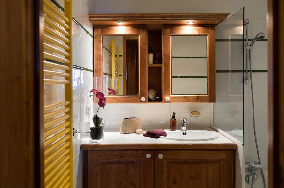 Urlaub in den Bergen Résidence P&V Premium les Hauts Bois - La Plagne - Waschräume