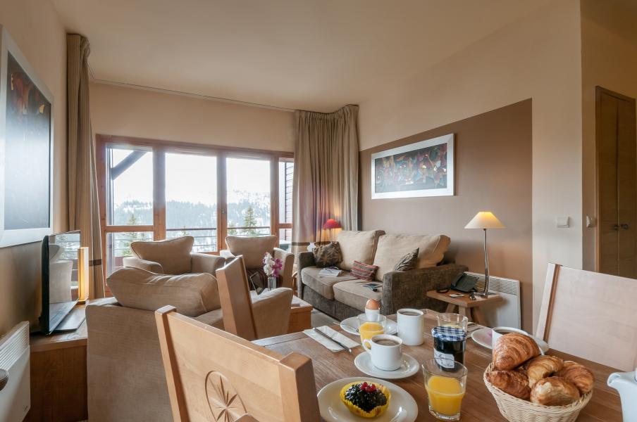 Vakantie in de bergen Résidence P&V Premium les Terrasses d'Eos - Flaine - Eethoek