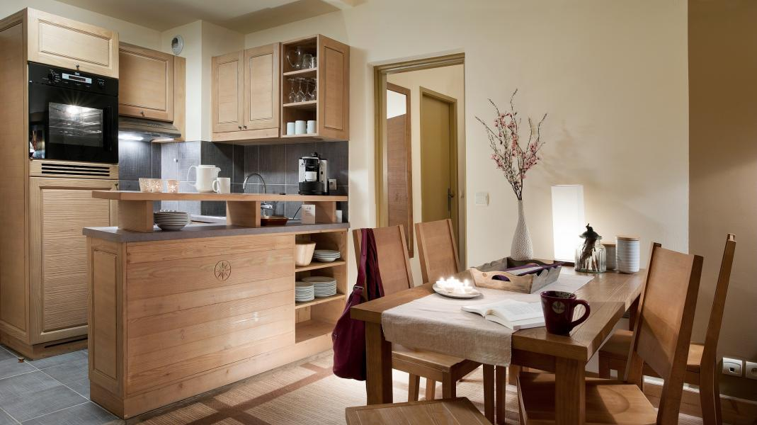 Vakantie in de bergen Résidence P&V Premium les Terrasses d'Eos - Flaine - Keuken