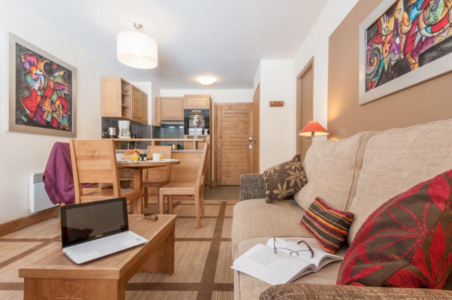 Vakantie in de bergen Résidence P&V Premium les Terrasses d'Eos - Flaine - Open keuken