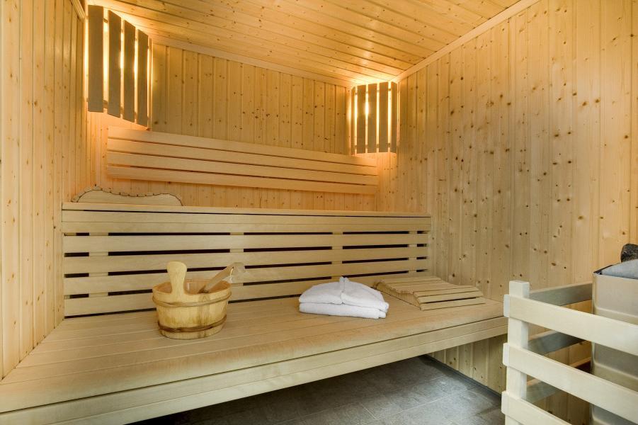 Vakantie in de bergen Résidence P&V Premium les Terrasses d'Eos - Flaine - Sauna
