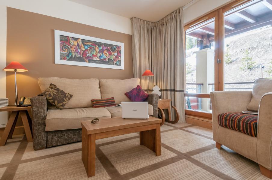 Vakantie in de bergen Résidence P&V Premium les Terrasses d'Eos - Flaine - Sofa