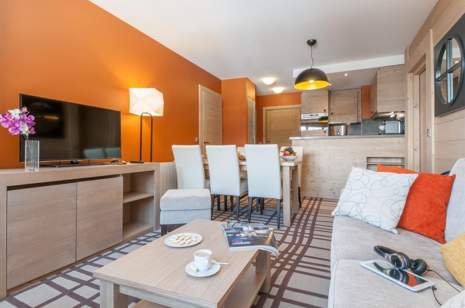 Urlaub in den Bergen Résidence P&V Premium les Terrasses d'Helios - Flaine - Esszimmer