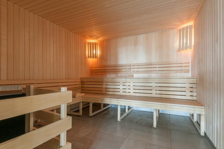 Urlaub in den Bergen Résidence P&V Premium les Terrasses d'Helios - Flaine - Sauna