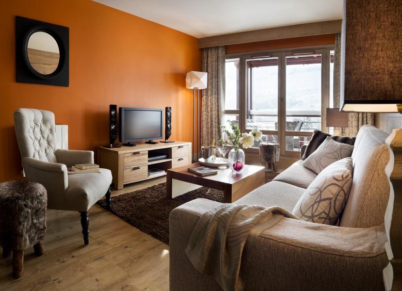 Urlaub in den Bergen Résidence P&V Premium les Terrasses d'Helios - Flaine - TV