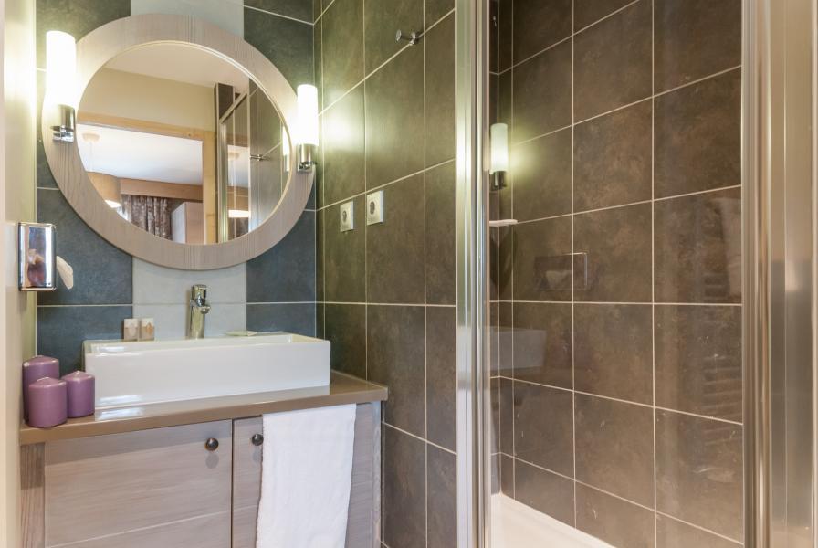 Urlaub in den Bergen Résidence P&V Premium les Terrasses d'Helios - Flaine - Waschräume