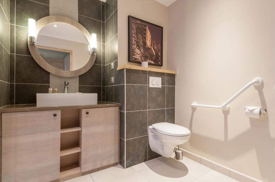 Urlaub in den Bergen Résidence P&V Premium les Terrasses d'Helios - Flaine - WC