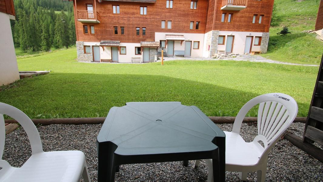 Rent in ski resort 3 room duplex apartment 7 people (CH19) - Résidence Parc aux Etoiles - Puy-Saint-Vincent - Summer outside