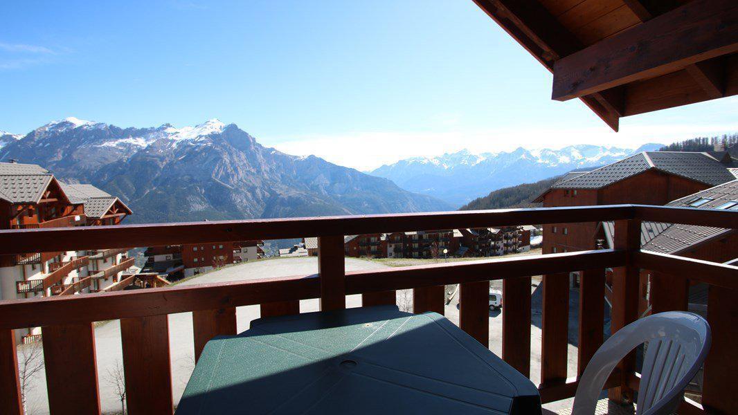 Location au ski Appartement 2 pièces 4 personnes (A204) - Résidence Parc aux Etoiles - Puy-Saint-Vincent - Extérieur été