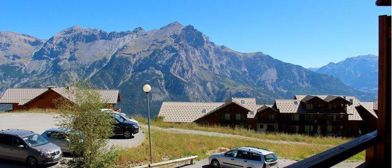 Location au ski Appartement 4 pièces 7 personnes (B102) - Résidence Parc aux Etoiles - Puy-Saint-Vincent - Extérieur été