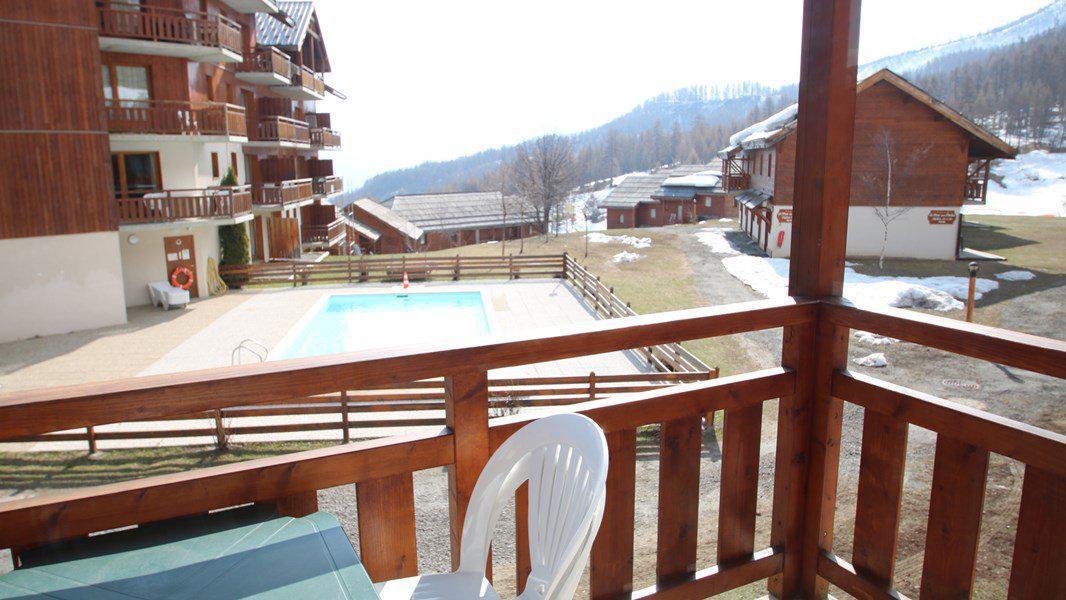 Location au ski Appartement triplex 5 pièces 8 personnes (CH38) - Résidence Parc aux Etoiles - Puy-Saint-Vincent - Extérieur été
