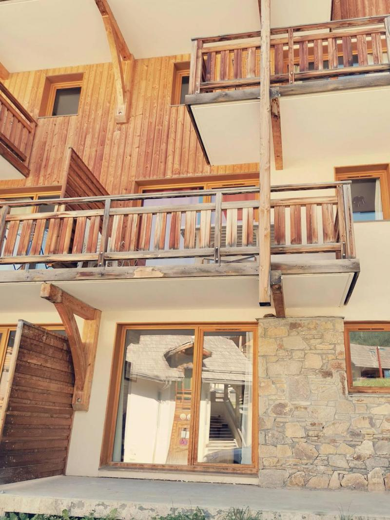 Location au ski Appartement 3 pièces 6 personnes (805) - Résidence Parc des Airelles - Les Orres - Extérieur été