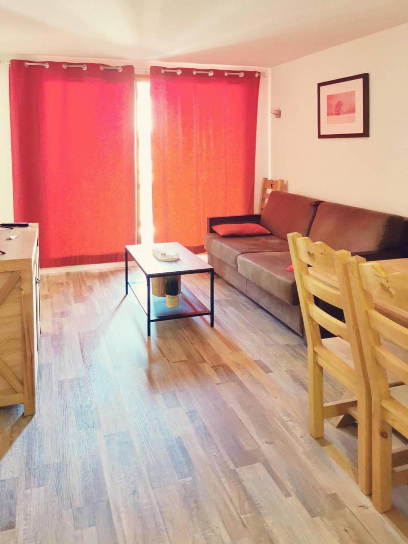 Vacaciones en montaña Apartamento 3 piezas para 6 personas (805) - Résidence Parc des Airelles - Les Orres - Sofá-cama