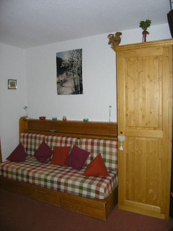 Vacances en montagne Studio 4 personnes (3A63) - Résidence Peclet-en Garnet - Méribel - Séjour