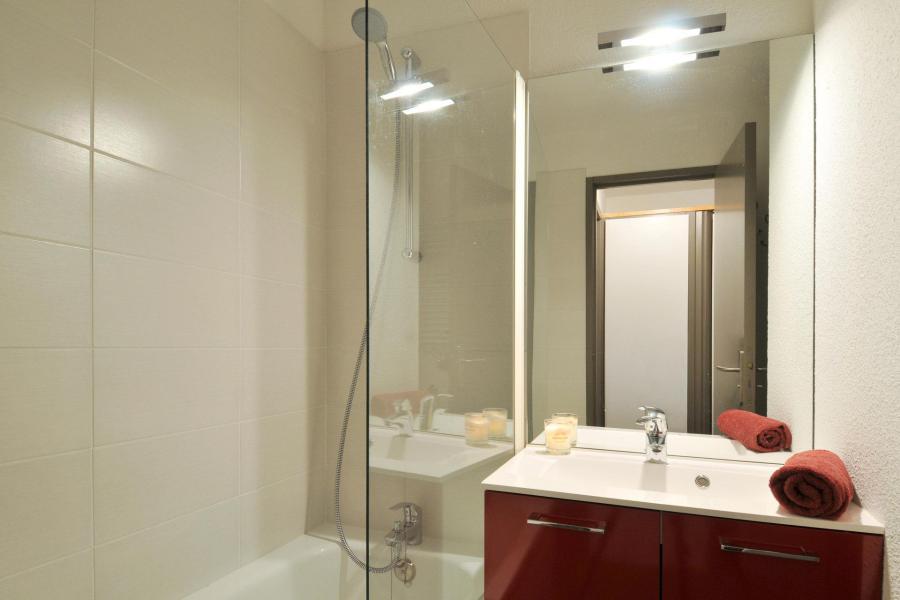 Holiday in mountain resort Studio cabin 4 people (1) - Résidence Pégase - La Plagne - Bathroom