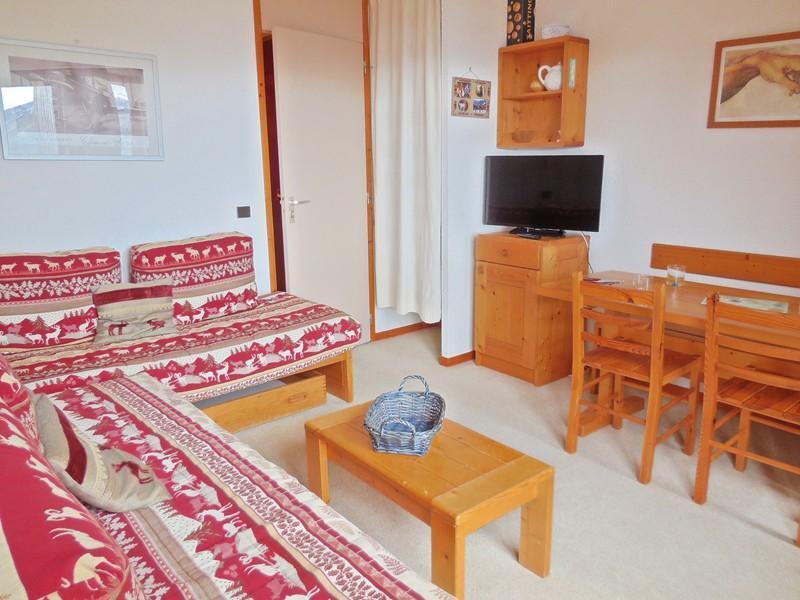 Vacances en montagne Appartement 2 pièces 4 personnes (034) - Résidence Pendule - Montchavin La Plagne - Canapé