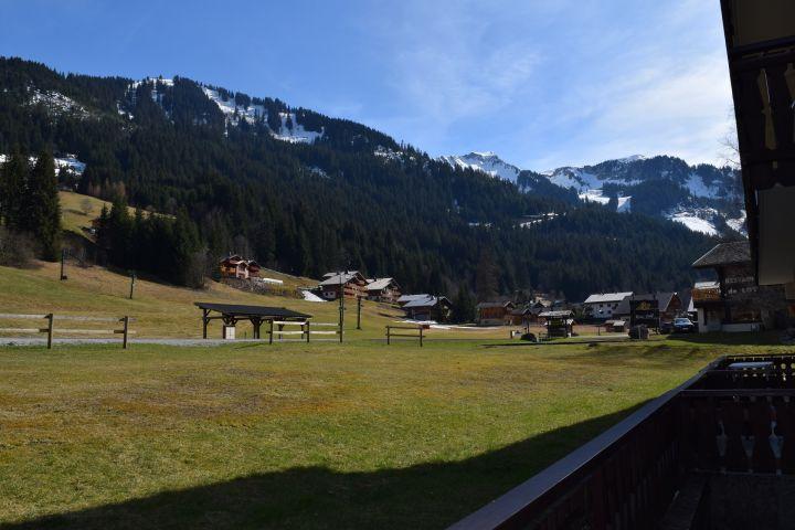 Vacaciones en montaña Apartamento cabina 2 piezas para 4 personas (PNG007B) - Résidence Perce Neige - Châtel - Verano