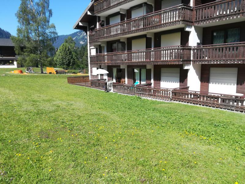Vacaciones en montaña Apartamento cabina 2 piezas para 4 personas (PNG004B) - Résidence Perce Neige - Châtel - Verano