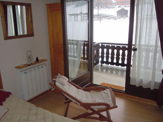 Wakacje w górach Apartament 2 pokojowy z alkową 4 osoby (PNG004B) - Résidence Perce Neige - Châtel - Pokój gościnny