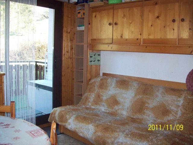 Vacaciones en montaña Apartamento cabina 2 piezas para 4 personas (PNG009D) - Résidence Perce Neige - Châtel - Sofá