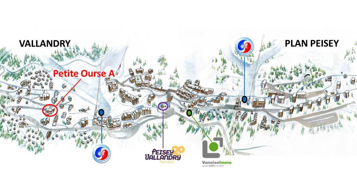 Holiday in mountain resort Résidence Petite Ourse - Peisey-Vallandry
