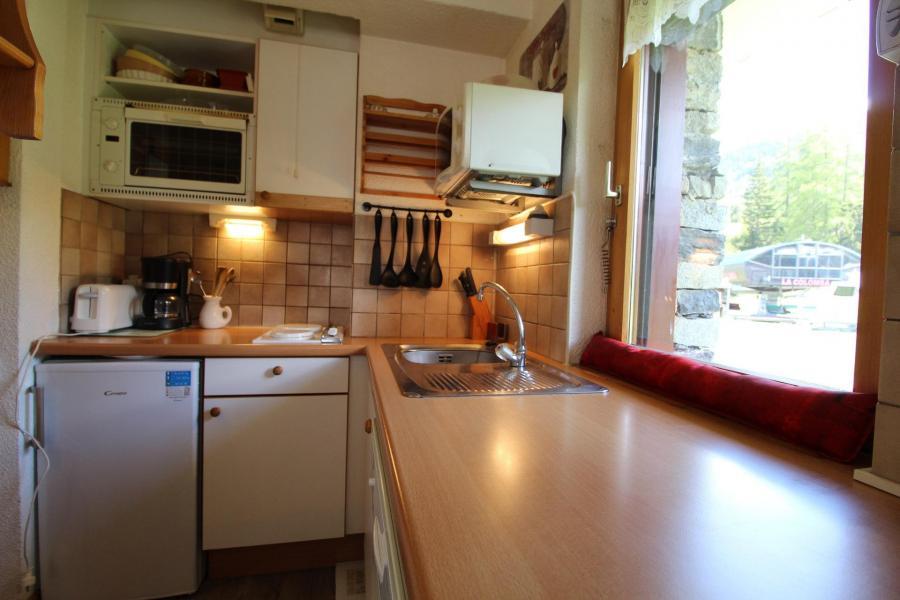 Vacances en montagne Studio cabine 4 personnes (A004) - Résidence Pied de Pistes - Val Cenis - Cuisine