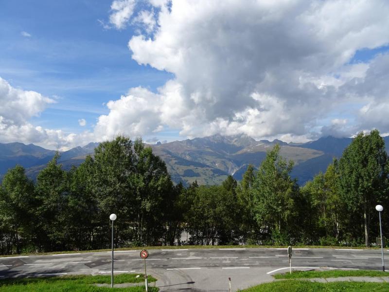 Location au ski Studio 3 personnes (002) - Résidence Pierra Menta - Les Arcs - Extérieur été