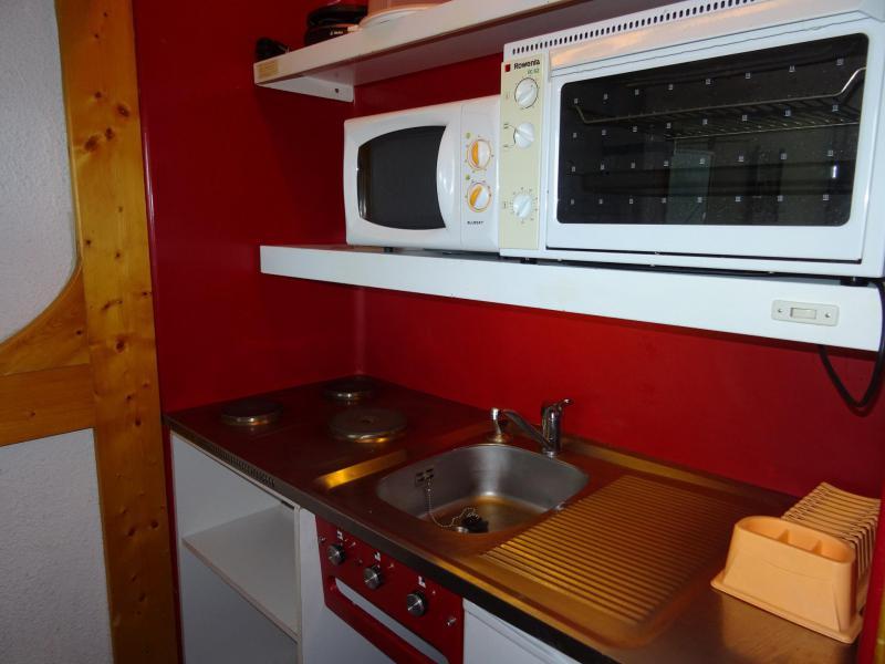 Vacances en montagne Studio 3 personnes (002) - Résidence Pierra Menta - Les Arcs - Cuisine