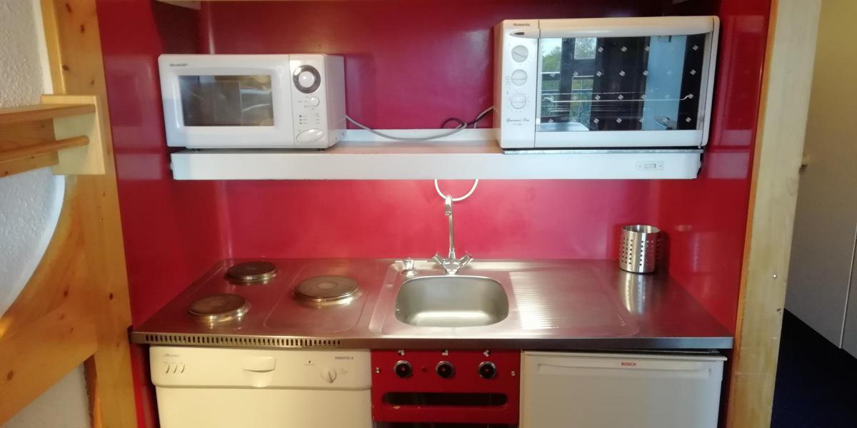 Vacances en montagne Studio coin montagne 5 personnes (102) - Résidence Pierra Menta - Les Arcs - Cuisine