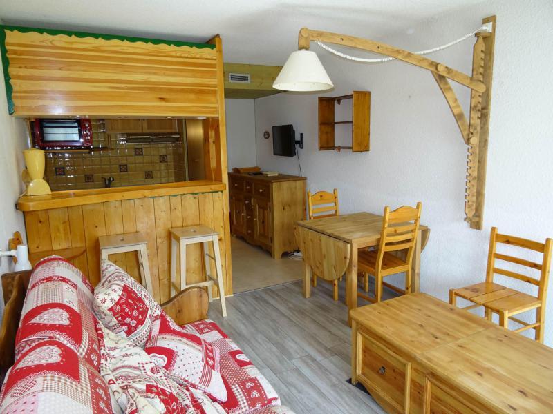 Vacances en montagne Studio coin montagne 5 personnes (220R) - Résidence Pierra Menta - Les Arcs - Séjour